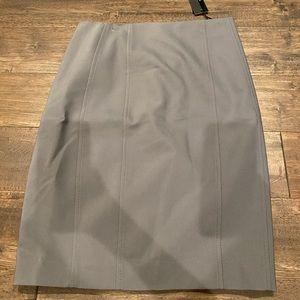 NWT High waist pencil skirt grey Express Size 2